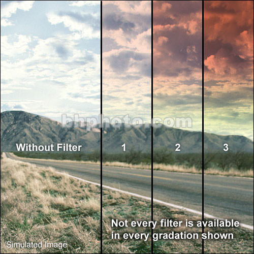 Formatt Hitech 95mm Graduated Sunset 1 Filter