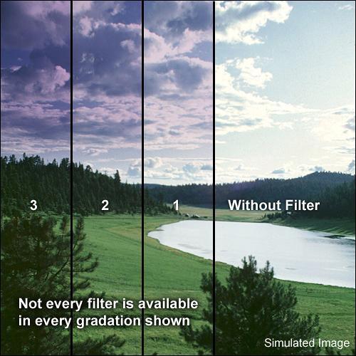 Formatt Hitech 95mm Graduated Grape 3 Filter