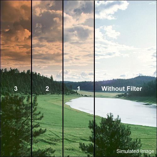 Formatt Hitech 95mm Graduated Sepia 3 Filter