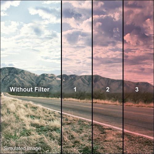 Formatt Hitech 95mm Solid Tuscan Pink 3 Filter