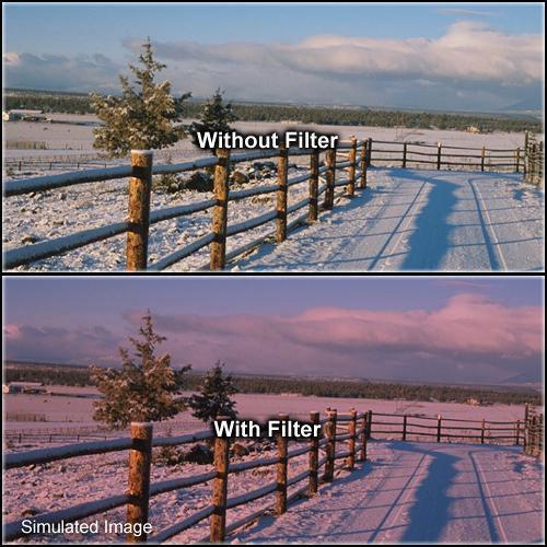 "Formatt Hitech Solid Color Cranberry Filter (5.65 x 5.65"")"
