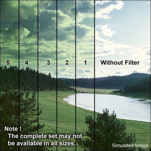 "Formatt Hitech 5.65 x 5.65"" Color Graduated Green 1 Filter"