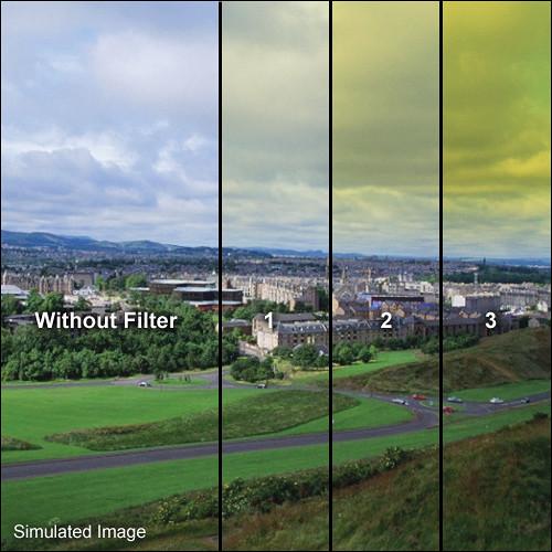 """Formatt Hitech Blender Yellow Filter (5.65 x 5.65"""")"""