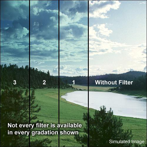 "Formatt Hitech 5.65 x 5.65"" Graduated Tropic Blue 3 Filter"