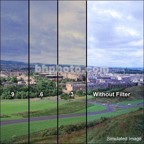 """Formatt Hitech 5.65x5.65"""" Combination 85B/ND 0.9 Glass Filter (3-Stop)"""