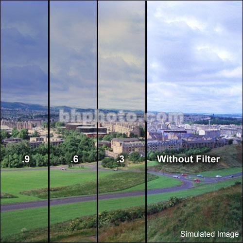 """Formatt Hitech 5.65x5.65"""" Combination Color Conversion 85/Neutral Density (ND) 0.3 Schott-Desag B270 Crown Optical Glass Filter"""