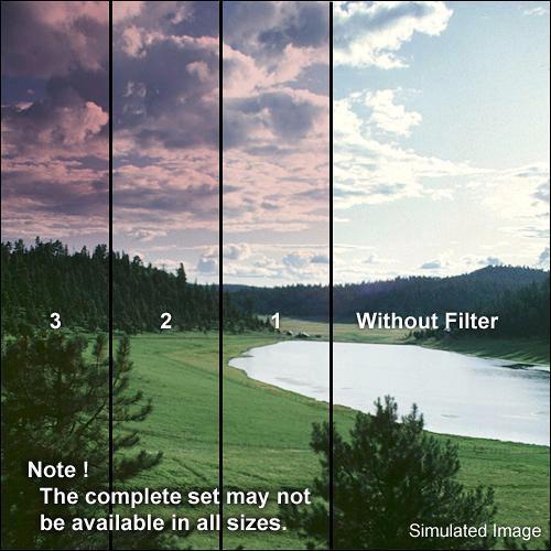 Formatt Hitech Series 9 Color Graduated Cranberry 1 Filter