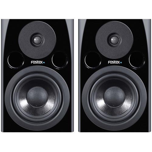 "Fostex PM0.5n 70W 5"" Active Nearfield Studio Monitor Speaker (Pair, Black)"