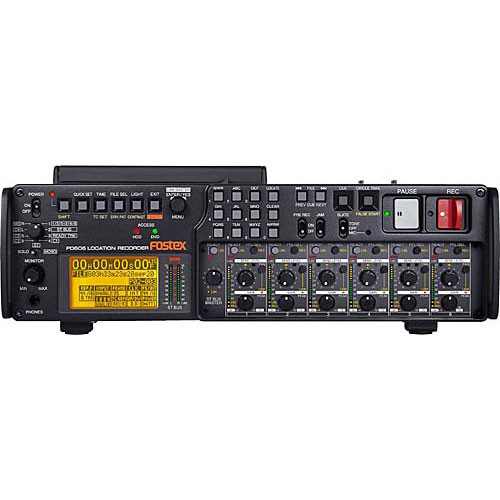 Fostex PD606 Professional DVD/HD Location Audio Recorder