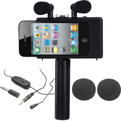 Fostex iPhone 4/4S & iPod touch 4G Interviewing Kit