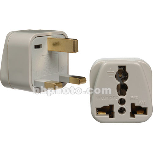 Travel Smart by Conair NWG135C Adapter Plug - USA Devices Within 3-Prong Great Britain
