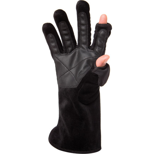 Freehands Women's Microfur Gloves (Small, Black)