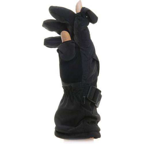 Freehands Men's Soft Shell Ski/Snowboard Gloves (Large)