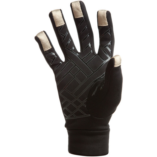 Freehands Power Stretch 5 Finger Liner, Unisex (Small/Medium, Black)