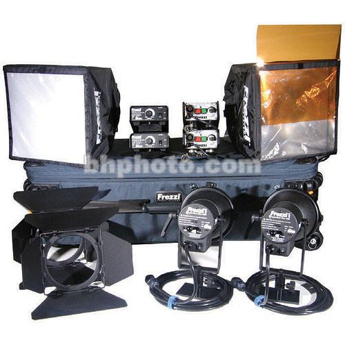 Frezzi Super Sun Gun 400W HMI 2 Light Kit (120-240VAC/30VDC)