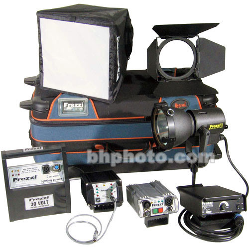 Frezzi Super Sun Gun HMI 1 Light AC/DC Kit (110-240V AC/30VDC)