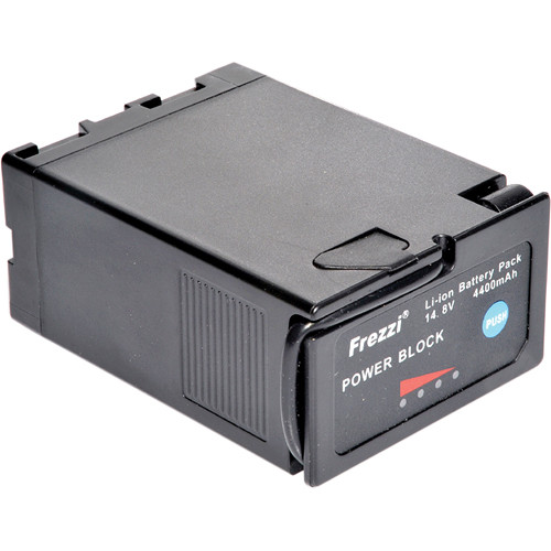Frezzi PB-65 14.8V 65Wh Power Block Battery with Meter