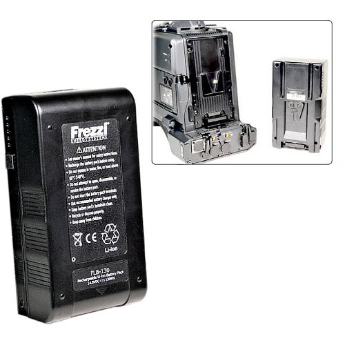 Frezzi FLB-130V 14.8 VDC Lithium Ion Brick Battery