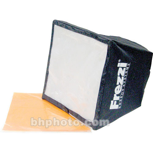 Frezzi SSG-SB Soft Box, 3 Diffusion Filters, CTO Gel
