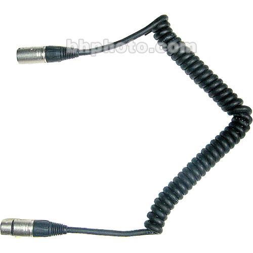 Frezzi CC-44 Coiled 4-pin XLR Male to 4-pin XLR Female Power Cable