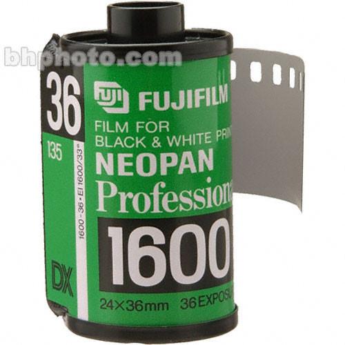 Fujifilm Neopan-1600 135-36 Professional Black & White Print Film