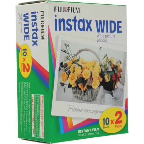 FUJIFILM Instax 210 Instant Color Print Film (20 Shots)