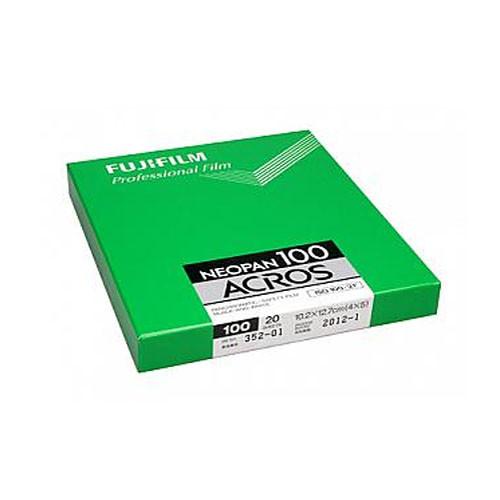 "Fujifilm 4x5"" Neopan Acros 100 Black and White Negative Film (20 Sheets)"