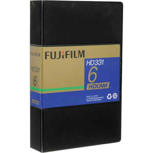 Fujifilm HD331-6S HDCAM Videocassette, Small
