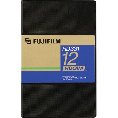 Fujifilm HD331-12S HDCAM Videocassette, Small