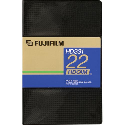 Fujifilm HD331-22S HDCAM Videocassette, Small