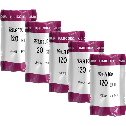 Fujifilm CS 120 Fujicolor Reala Color Print Film (ISO-100, 5 Pack)