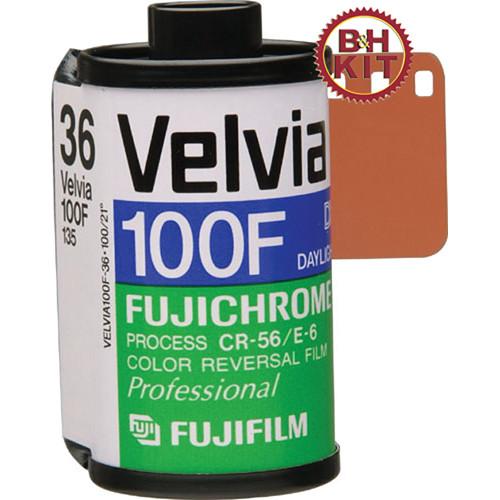 Fujifilm RVP 135-36 Fujichrome Velvia 100-F (5 Rolls)