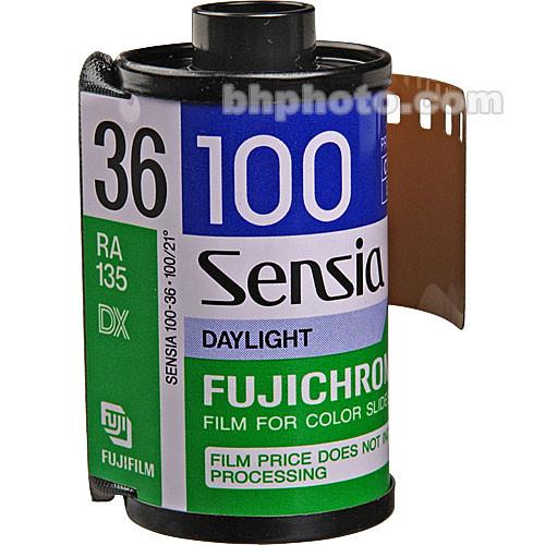 Fujifilm RA 135-36 Sensia 100 Color Slide Film (ISO-100)
