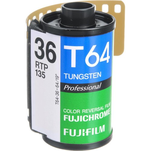 Fujifilm RTP-II 135-36 Fujichrome 64T Tungsten Color Slide Film (ISO-64)