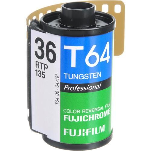 Fujifilm RTP-II 135-36 Fujichrome 64T Tungsten Color Slide Film (ISO-64)