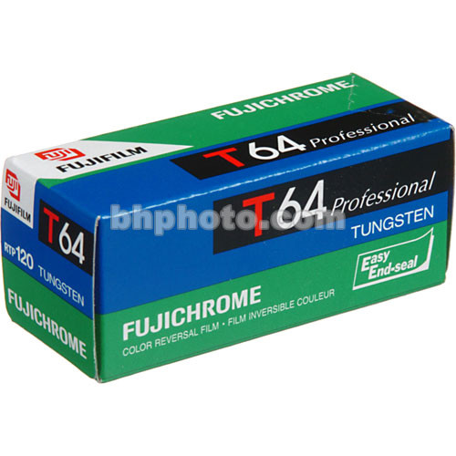 Fujifilm RTP 120 Fujichrome 64T Tungsten Color Slide Film (ISO-64)