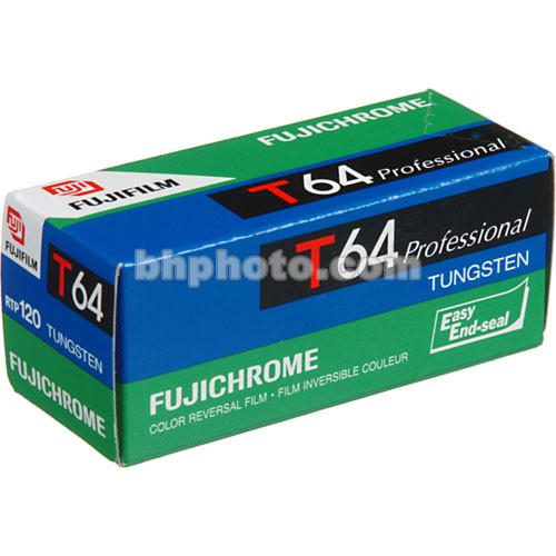 Fujifilm RTP 120 Fujichrome 64T Tungsten Color Slide Film (ISO-64)