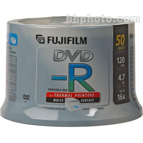 Fujifilm DVD-R 4.7GB 16x White Printable (50)