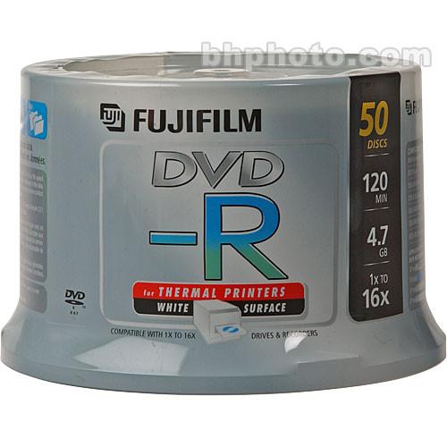 Fujifilm DVD-R 4.7GB 16x White Thermal (50)