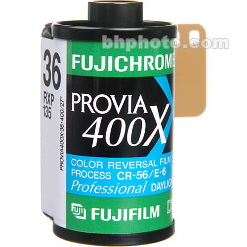 Fujifilm Fujichrome Provia 400X (RXP III) 35mm Color Slide Film