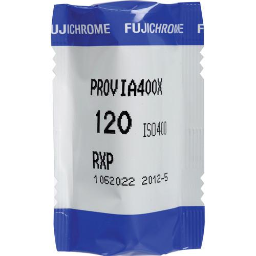 Fujifilm Fujichrome Provia 400X (RXP III) 120 Color Slide Film