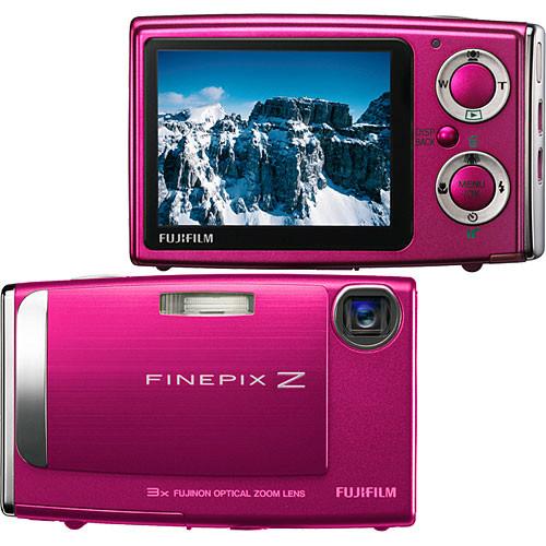 Fujifilm FinePix Z10fd Digital Camera (Hot Pink)