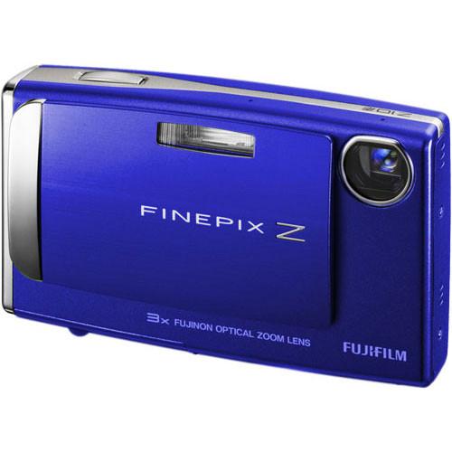 Fujifilm FinePix Z10fd Digital Camera (Wave Blue)