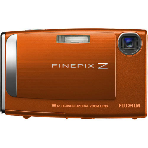 Fujifilm FinePix Z10fd Digital Camera (Sunset Orange)