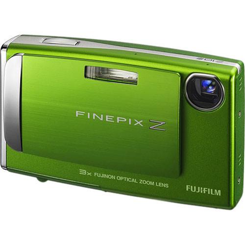 Fujifilm FinePix Z10fd Digital Camera (Wasabi Green)