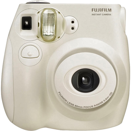 Fujifilm instax mini 7S Instant Film Camera (White)