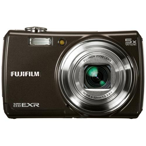Fujifilm FinePix F200EXR Digital Camera (Black)