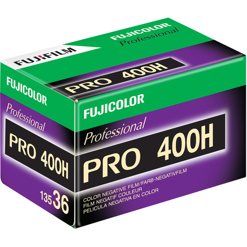 Fujifilm Fujicolor PRO 400H Professional Color Negative Film (35mm Roll Film, 36 Exposures, 5 Pack)