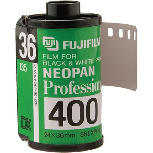 Fujifilm Neopan 400 135-36 Professional Black & White Print Film (5 Pack)
