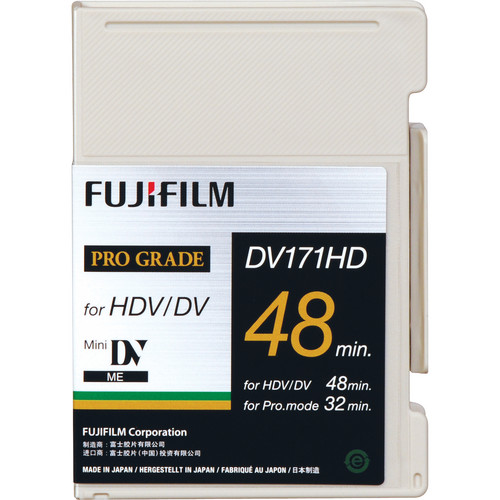 Fujifilm DV171HD48S Metal Evaporated HDV Tape